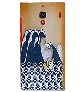 XIAOMI REDMI 1S BOAT Back Cover by PRINTSWAG