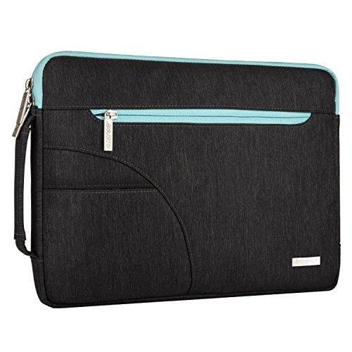 MOSISO Laptop Spalla Borsa con Tasca Laterale