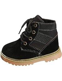 Elsta Kinder Baby Freizeitschuhe Kinder Warme Jungen Mädchen Sneaker Stiefel Warm Shoes Sneaker Schneestiefel Weiche Sohle Turnschuhe Freizeitschuhe schnüren sich oben Schuhe