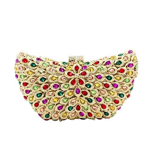 Frauen-Diamant-Abendtasche High-End-Luxus-Handtasche A