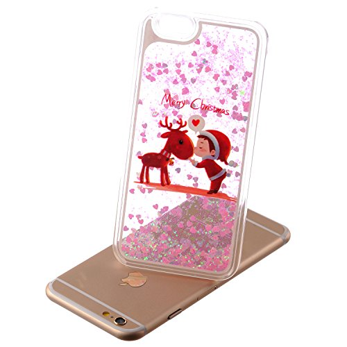 "MOONCASE pour iPhone 6 (4.7"") Case Glitter Quicksand Dynamic Hard Housse Coque Etui Shell Case Cover LS08 LS01 #0111"