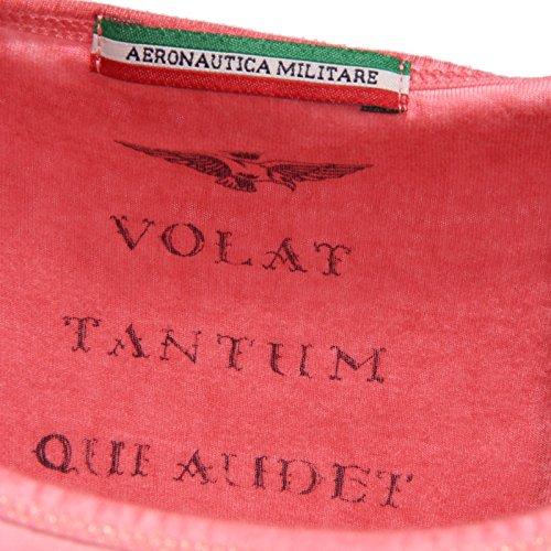 Aeronautica Militare 2476R Maglia Donna Viscosa Rosa t-Shirt Woman Rosa