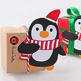 Rosepoem Candy Papierkarte Schokolade Xmas Party Pinguin