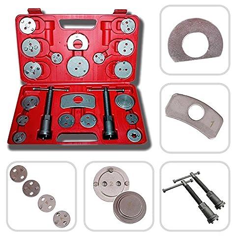 Todeco - Coffret repousse piston d étrier de freins - Kit d outils 22 pièces