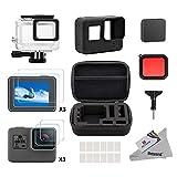 Deyard 25 in 1 GoPro Hero 5 Kit accessori con antiurto Small Case Bundle per GoPro Hero 5 Action Camera immagine