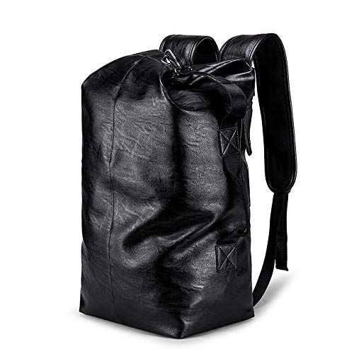 Casual große Kapazität Umhängetasche Business-Computer-Rucksack Studententasche Handtasche @ schwarz