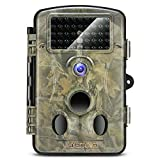 Crenova 2018 Upgraded Trail Camera 12MP 1080P HD Wildlife Camera with 120° Wide Angle 65ft Detection Range 42 Pcs 940nm Updated IR LEDs Night Version for Wildlife Monitoring & Home Security&Hunting