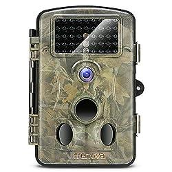 "Crenova® 12MP 1080P HD Wildkamera 120° Infrarote 20m Nachtsicht 2.4"" LCD Jagdkamera Jagdzeug Überwachungskamera"