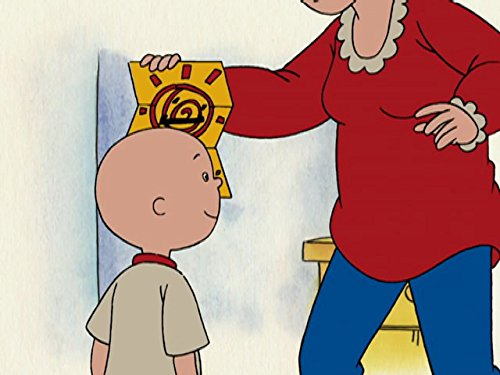 Image of Caillou Mails a Letter