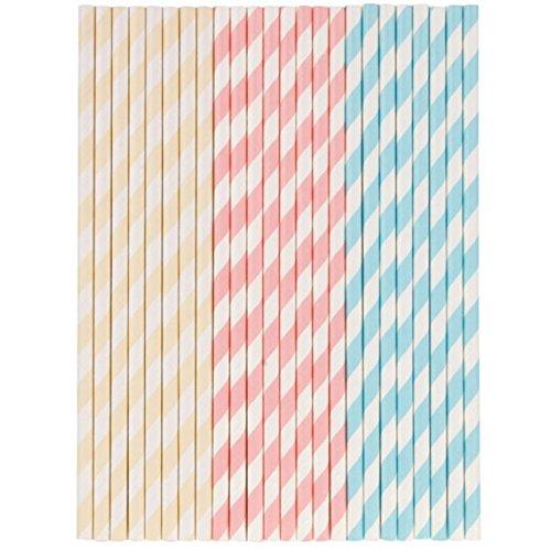 Tala Pastel Paper Straws Test