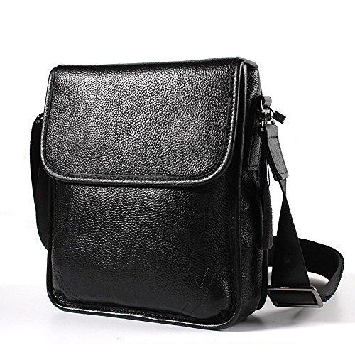 penao Oblique de sac à bandoulière masculin cross sac cuir de vachette unique sac bandoulière Baotou cuir hommes hommes