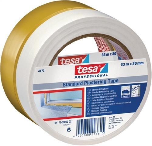 TESA Putzband tesa® Gelb (L x B) 33 m x 50 mm 4172-09-02 1 Rolle(n)