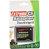 Komputerbay MicroSD auf CompactFlash-Adapter High Speed ​​Micro SD bis Compact Flash Typ I CF