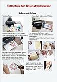 Tattoo-Transferfolien BodyStyle für Inkjet Tintenstrahldrucker Spezialfolien Tattoofolien