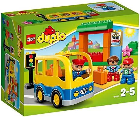 LEGO DUPLO LEGOville-thème Ville - 10528 - Jeu De Construction Construction Construction - Le Bus Scolaire | Choix Des Matériaux  0f9cdc