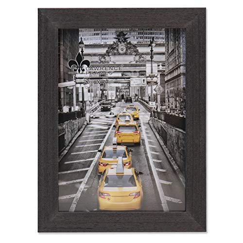 Lawrence Frames Soho Bilderrahmen, Holzmaserung, 12,7 x 17,8 cm, Schwarz