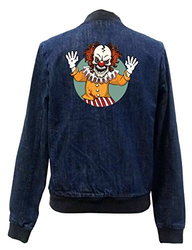 Evil Clown Jeans Bomberjacke Girls Certified Freak-S
