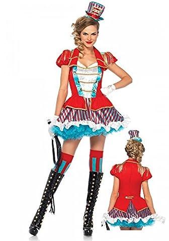 Ravishing Ring Master Damen-Kostüm von Leg Avenue Zirkusdirektorin Dompteurin, Größe:S