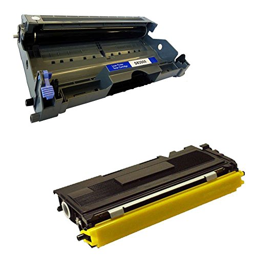 Bramacartuchos–tamburo dr2000+ cartuccia compatibile tn2000compatibile per stampanti brother dcp 7010l, dcp 7010, dcp 7020, dcp 7025, fax 2820, fax 2825, 2910, fax 2920, hl2020, hl2030, hl2040, hl2050, hl2070n, hl2070, mfc 7225n, mfc 7420