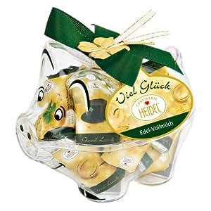 Confiserie Heidel Glücksschwein, 2er Pack (2 x 60 g Dose)