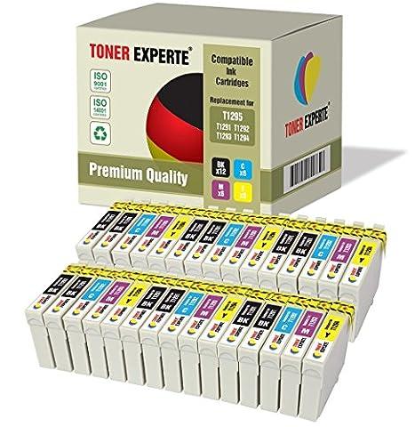 30 XL TONER EXPERTE® T1295 Druckerpatronen kompatibel für Epson Stylus