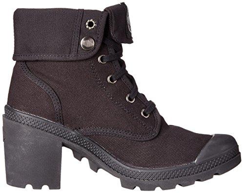 Palladium - Baggy Heel, Sneaker alte Donna Nero (Schwarz (BLACK/HI-RISE 062))