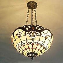 40,6 Cm Schwarz Perlen Orange Barock Wohnzimmer Deckenleuchte Mediterraner  Study Room Deckenleuchte Lampe Esszimmer