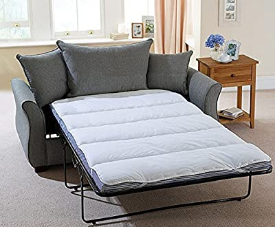Snugglemore Mattress Topper Bunk Bed / Double Pull Out Sofa Bed Size / Camping Bed Protector - inexpensive UK light shop.