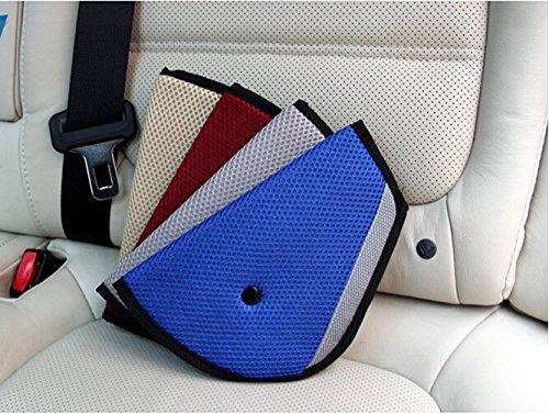 Liroyal Autositzschutz für Kindersicherheitshalter, verstellbarer Sicherheitsgurt
