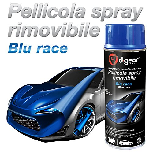 en-Spray, Abziehbar, Race-blau (Blau-spray)