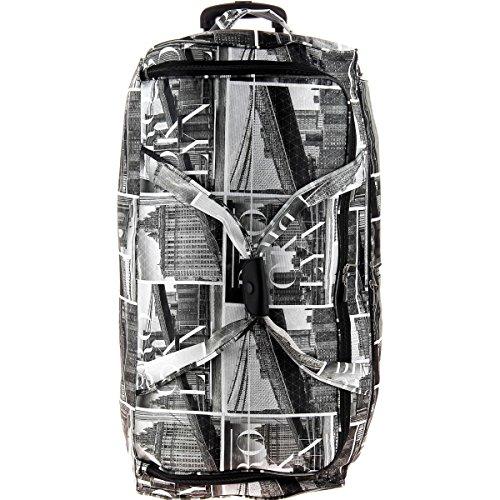 Sac de voyage à roulettes David Jones Taille L - Couleur BROOKLYN - 2 roulettes - 120 litres