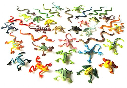 36x-snakes-frogs-lizards-salamander-animal-figures-monoblocks-reptiles