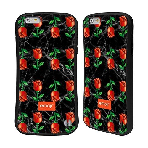 Ufficiale Emoji Unicorno Glitterato Tendenza Case Ibrida per Apple iPhone 7 Plus / 8 Plus Rose Marmoree