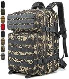 Doshwin Zaino Militare Tattico Molle Army US Assault Pack Military Tactical Backpack da Trekking Escursionismo Viaggio per Donna Uomo / 40L (ACU)