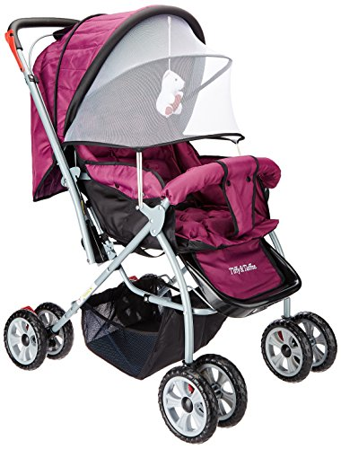 Tiffy & Toffee Baby Stroller Pram Maxtrem (Royal Purple)