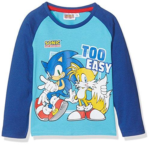 sonic-the-hedgedog-maglietta-bambino-turquoise-6-anni