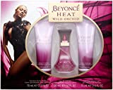Beyonce Wild Orchid Gift Set contains EDP 30 ml/ Shower Gel 75 ml and Body Lotion 75 ml