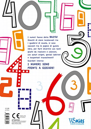 Non-solo-numeri-Con-adesivi-Ediz-a-colori