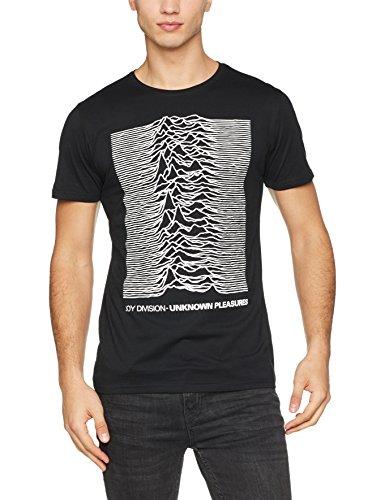 Metal-t-shirts Uk (MERCHCODE Herren Joy Divison UP Tee T-Shirt, Black, M)
