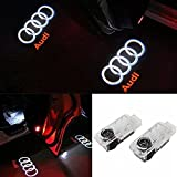ANKIA 2 Pcs Car Door LED Logo Light Laser Projector Lights Ghost Shadow Welcome Lamp Courtesy Light
