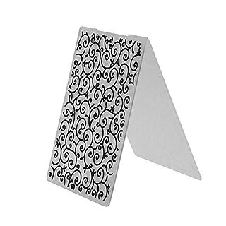 Broadroot Plastic Embossing Folders Template for DIY Card Making Decoration Supplies Scrapbook Paper Craft Gift (Flower Vine)