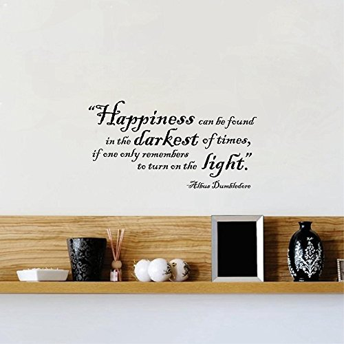 wandaufkleber 3d schlafzimmer Wall Sticker Home Art Quotes Humor Philosophy Quote Harry Potter Wall Stickers Harry Potter Vinyl Decal Quote Sticker By Albus Dumbledore