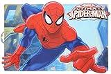 ALMACENESADAN 2331; Nappe individuelle lenticulaire Spiderman, Produit en Plastique; Dimensions 43x29 cm