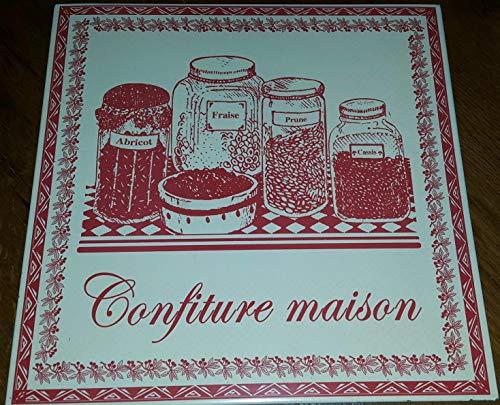 Antic Line Plaque « confitures Maison »30 * 30 cm
