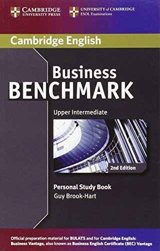 Business Benchmark Upper Intermediate BULATS and Business Vantage Personal Study Book (Cambridge English) 2nd edition by Brook-Hart, Guy (2014) Paperback