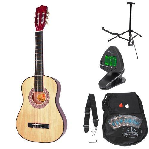 ts-music-fidelity-guitarra-clsica-para-nios-completa-con-accesorios-con-calidad-estndar-color-rojo-m