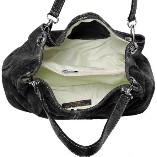 CASPAR Taschen & Accessoires, Borsa a spalla donna nero