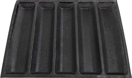 Antihaftbeschichtetes Silikon Backform Liners Matte Brot Form Subway Brot Backform 5Laib Brot Form 450* 340mm (45x 34cm)