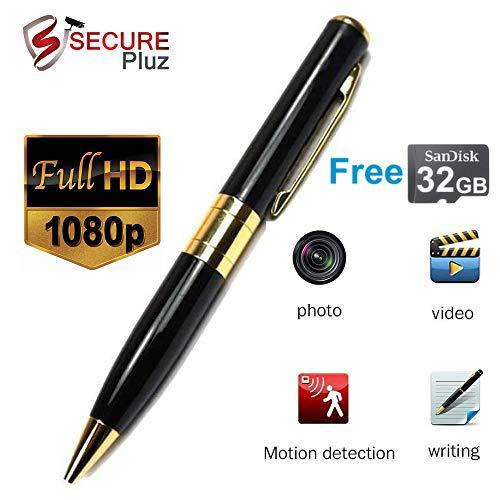 Inovics Spy Pen Camera Hi-Focus with HD Audio Video Recording Free 32 GB Memory Card for Long Recording Super Slim Hidden Camera in Pen hd Video Recording spy Camera
