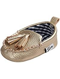 AngelaKerry - Zapatillas para niño, color rojo, talla 36 EU Para Niño Grande)